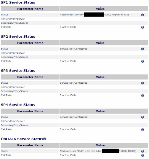 OBi200 service status