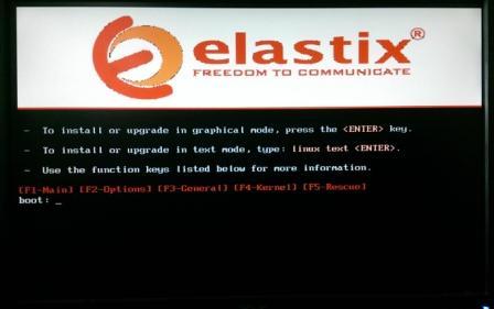 Elastix Installation