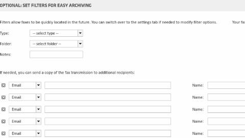Fax Transmit Filters