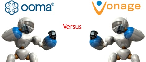 Ooma vs Vonage