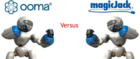 Ooma Versus Magicjack Comparison Whichvoip
