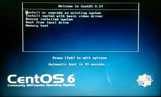 CentOS Install