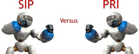 SIP versus PRI