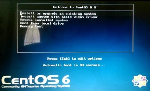 CentOS 6.6 Installation