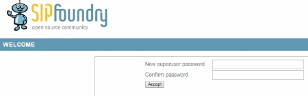 sipXecs Superadmin Password