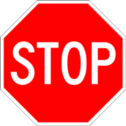 Call Blocking Stop Sign