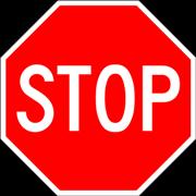 Call Blocking Stop Sign