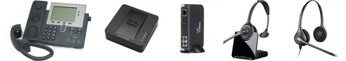 VoIP equipment examples