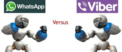 WhatsApp Versus Viber