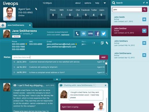 LiveOps Engagement Screen