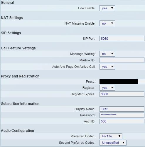 SPA504G registration 1