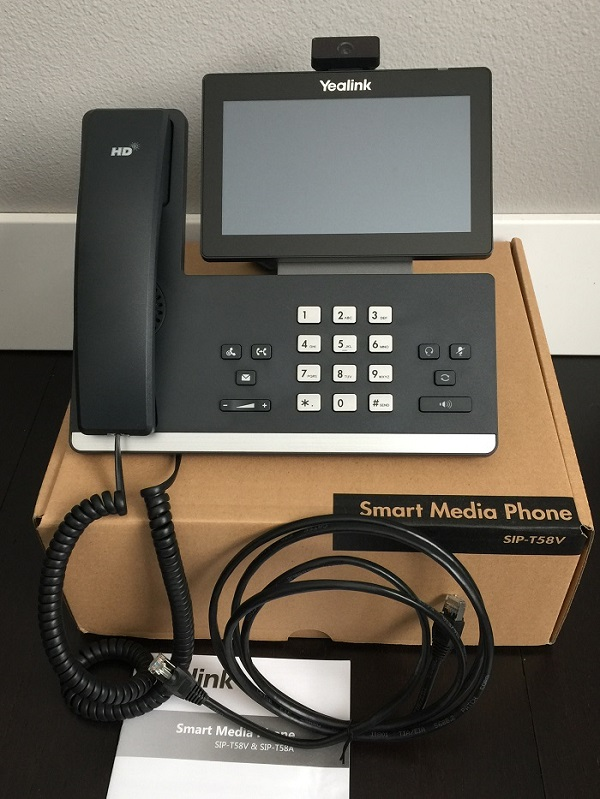 Yealink T58V Reviews | WhichVoIP